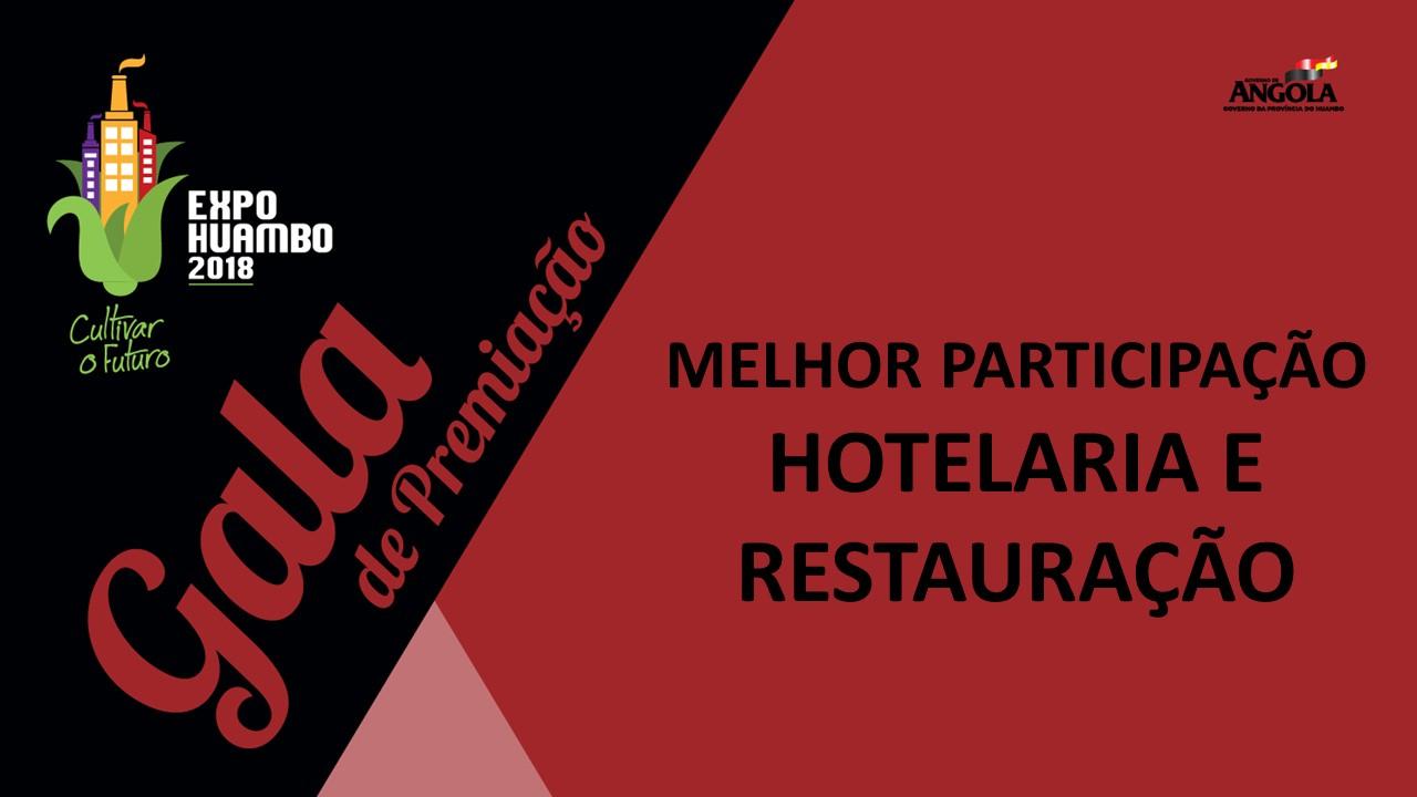 Categoria Hotelaria e Restauração