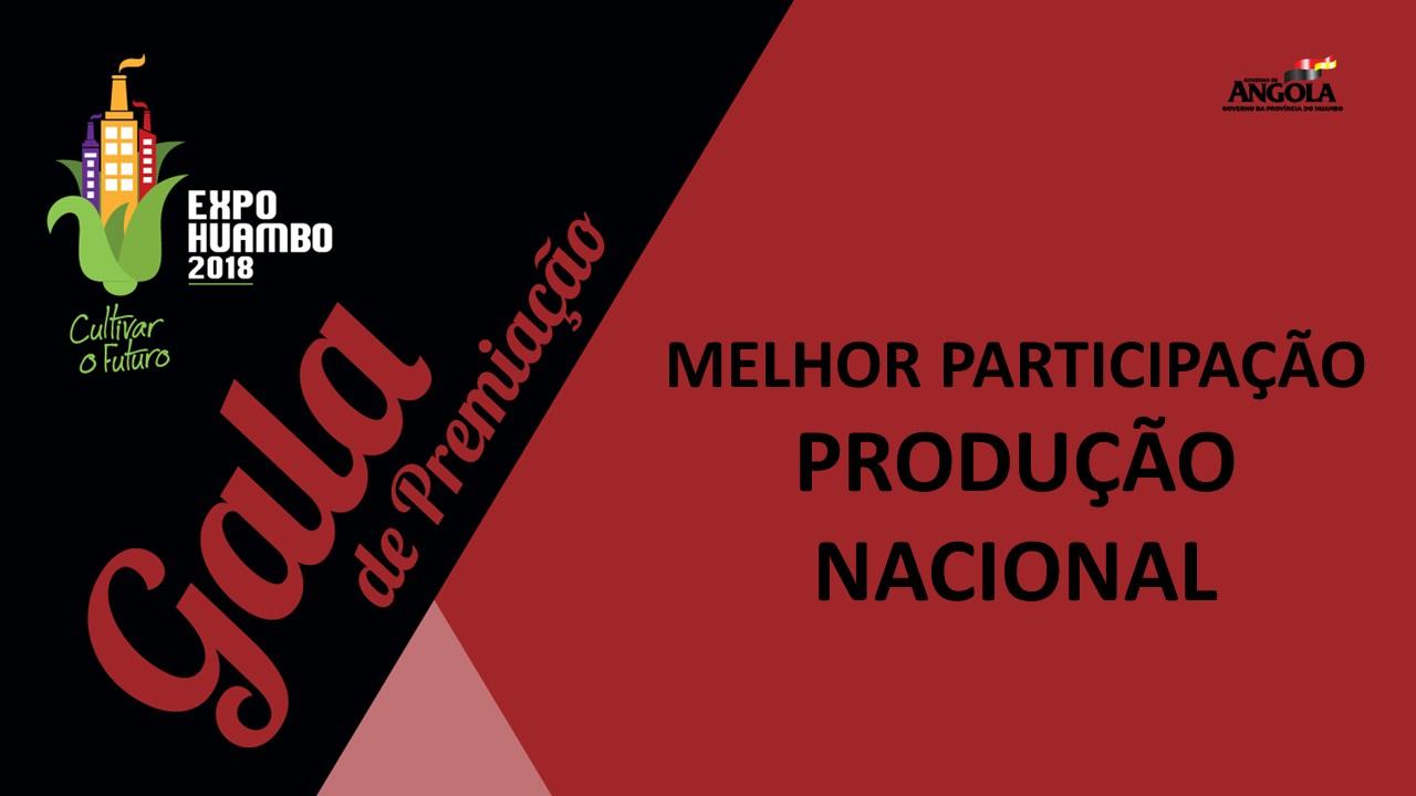 Categoria Produção Nacional