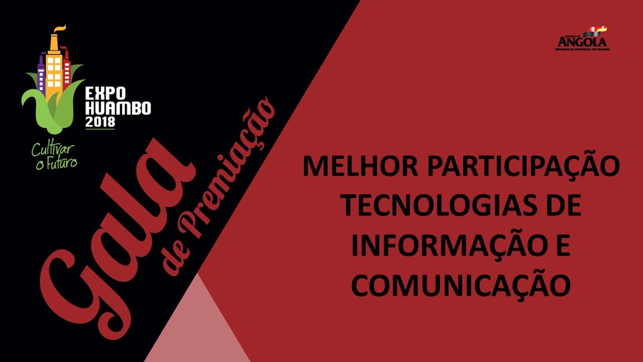Categoria Tecnologias de Informação e Comunicação